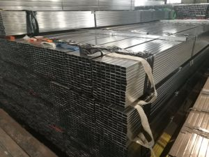 Pre-Galvanized Steel Square Tube with 120G/M2 Zinc Coating pictures & photos