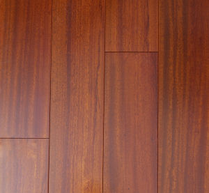 High Quality Solid Okan Hardwood Flooring