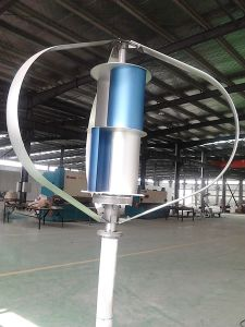 2000W 65m/S Strong Wind Vertical Axis Wind Generator for Remote Area pictures & photos