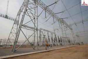Angle Steel or Steel Pipes of Power Substation pictures & photos