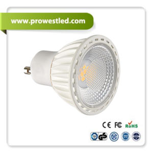 Dimmable 5W GU10/MR16 LED Spotlight with Excellent Heat Dissipation