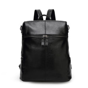 2016 Newest Wholesale Leather Women Fashion Backpack Bag pictures & photos
