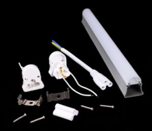 4W 8W 12W 16W G13 Aluminum PC T5 LED Tube pictures & photos