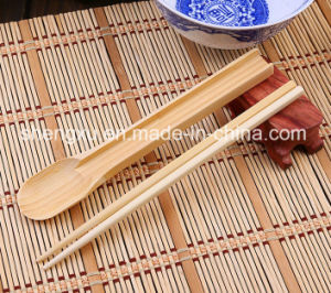 Nice Design Chinese Kitchen Bwood Cutlery Set (SX-A04)