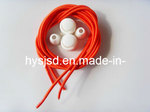 3mm*110cm Good Quality and Low Price No Tie Lock Lace pictures & photos