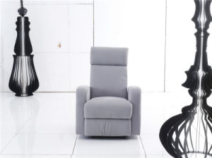 Colorful Fabric Arm Chair with Manual Recliner Function