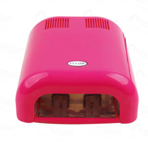 Professional Nail Art 36W Gel Nail Cure UV Lamp with 120s Rose Pink Colour Nail Beauty
