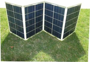 200W Portable Solar Power System for Camping with 10m Cable pictures & photos