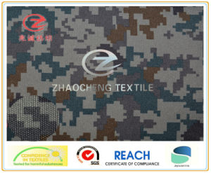 600d Heavy Weight Poly Oxford Digital Camouflage Printing Fabric (ZCBP104)