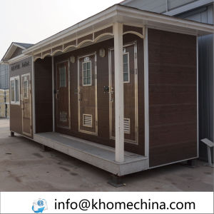 Sandwich Panel Prefabricated House for Highway Toilet pictures & photos