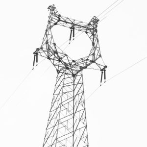 10kv-1100kv Electric Power Transmission Galvanized Angle Steel Metal Latticed Tower
