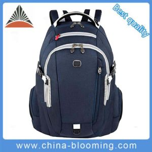 Leisure Travel Nylon Notebook Computer Laptop Backpack for Men pictures & photos