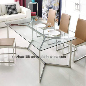 Furniture Stainless Steel Dining Table