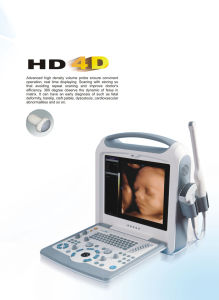 Hand-Carried Color Doppler Ultrasound with LCD Monitor pictures & photos