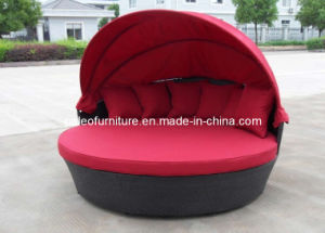 Outdoor Rattan Furniture Patio Garden Wicker Modern Sun Lounge (PAL-3131)