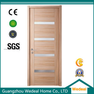 Modern Readymade Simple Wood Veneer Flush Interior Door with Glasses pictures \u0026 photos  sc 1 st  Guangzhou Wedeal Home Co. Ltd. & China Modern Readymade Simple Wood Veneer Flush Interior Door with ...