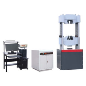 WAW-1000 Micro-Computer Control Electro-Hydraulic Servo Universal Testing Machine UTM pictures & photos