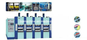 EVA Shoe Foaming Injection Molding Machine 4stations pictures & photos