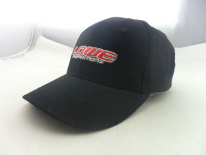 Cheap Wholesale Black Embroidery 6 Panel Basebal Custom Hats pictures & photos