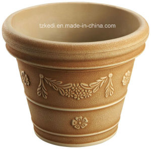 Double Rim Garden Planter (KD3211CP-KD3213CP) pictures & photos