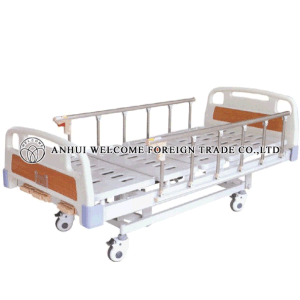 ABS Three-Crank Manual Hospital Bed pictures & photos