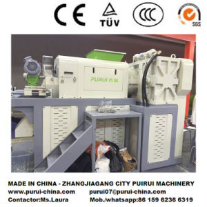 PP PE Film Squeezing Dewater Machine for Plastic Recycling pictures & photos