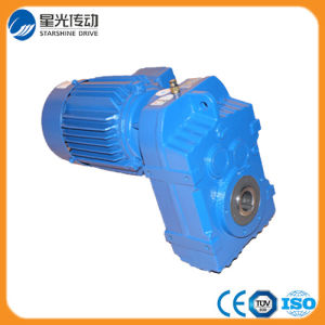 Xg Brand F Series Parallel Shaft Helical Gearbox Prices pictures & photos