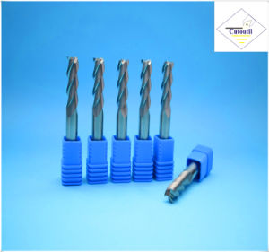 Cutoutil   4 Teeth 45° Helix Cut Steel D3 8*50*4  Solid Carbide End Mills Tools pictures & photos