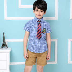 British Style Summer School Uniforms in Public Schools of 100%Cotton pictures & photos