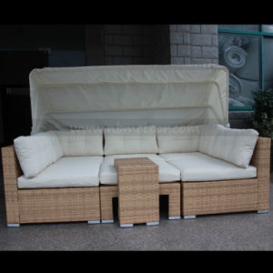 New Hotel Deisgn Patio Garden Furniture Living Sofa Set with Club Chair pictures & photos