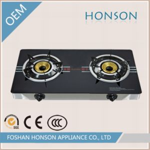 Fashion Table Top High Quality 2 Rings Cast Iron Stove