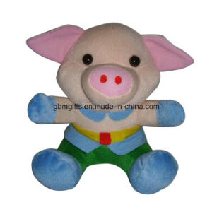 New Design Stuffed Toy Custom Plush Toys Lifelike Plushtoys Pink Pig for Baby