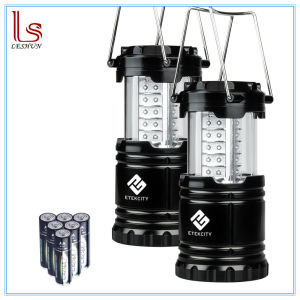 2 Pack Portable Outdoor LED Camping Lantern