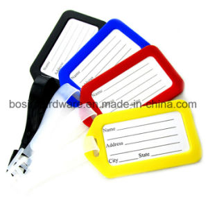 Plastic Luggage Tag Label Tag pictures & photos