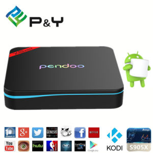 Pendoo X9 PRO TV Box 2g 16g Amlogic S912 Octa Core 4k Smart Android 6.0 Marshmallow TV Box pictures & photos
