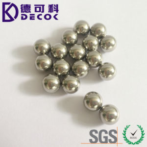 3.17mm 4.76mm 6.35mm 7.14mm Stainless Steel Ball G10 for 316 Steel Sphere pictures & photos