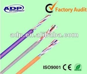 UTP/FTP/SFTP Cat5e Jelly Filled Outdoor Cable pictures & photos