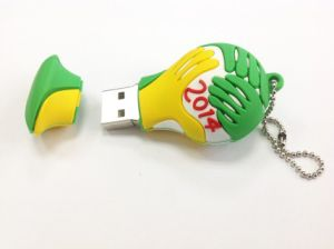 Cute Shape USB PVC Flash Driver USB Flash Memorry Disk pictures & photos