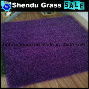 Kindergarten Purple Synthetic Grass 25mm pictures & photos