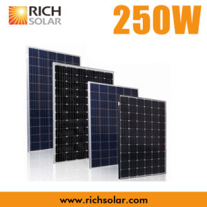 250W Photovoltaic PV Solar Panel with Certificates