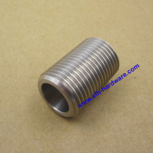 CNC Machining Metal Component Stainless Steel Pipe Nipple