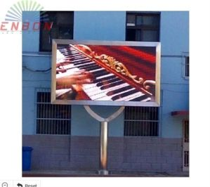 P10 DIP346 LED Advertising Display for Permanence Installation pictures & photos