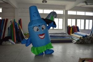 Walking Mascot Cartoon Costume, Inflatable Costume pictures & photos