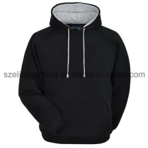 Blank Wholesale Cotton Hoodies (ELTHSJ-416) pictures & photos