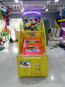 Coin Operated Children Basketball Machine for Sale pictures & photos