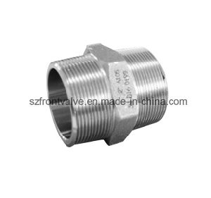 Forged Steel High Pressure Sw/ Threaded Hexagon Nipple pictures & photos