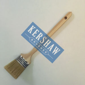 Radiator Brush (paint brush 100% pure white bristle with long poplar handle, stainless steel ferrule) pictures & photos