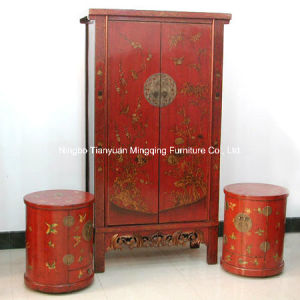 Wonderful Chinese Red Antique Furniture