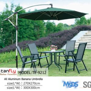Weather Resistant 24 Hours Feedback Sun Garden Round Parasol Umbrella