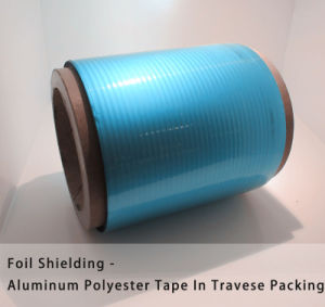 Foil Shielding Tape Aluminum Polyester Laminates in Traverse Packing